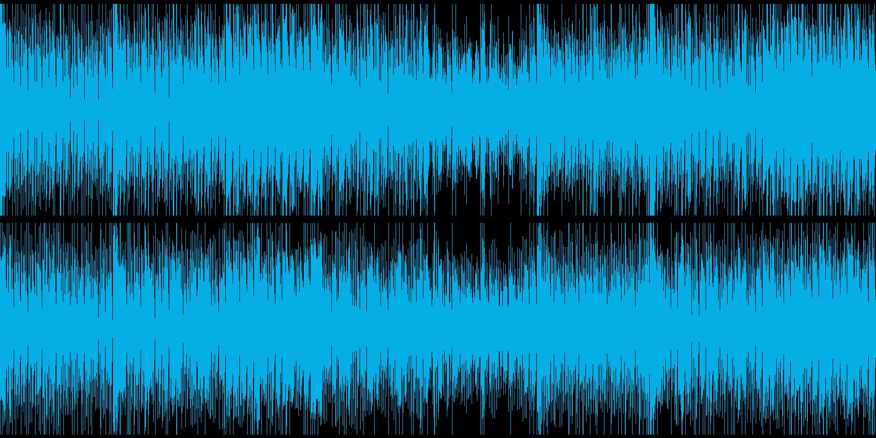 オープニング、トークの背景用(ループ)の再生済みの波形