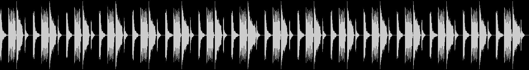 ロボットが考えている音の未再生の波形