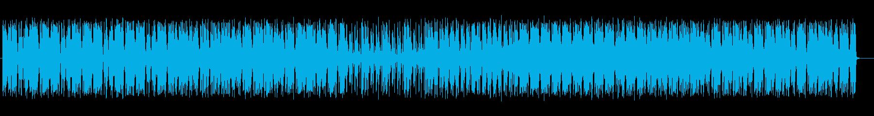 幻想的でテクニカルなテクノポップの再生済みの波形