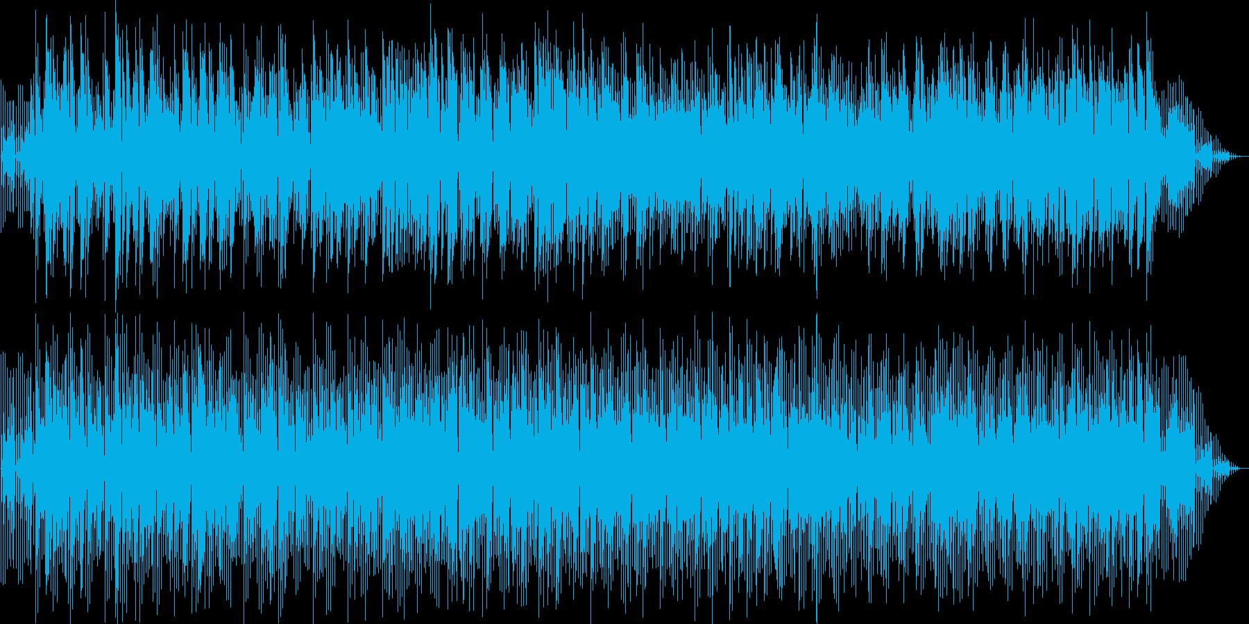 ムードありシックなイージーリスニングの再生済みの波形