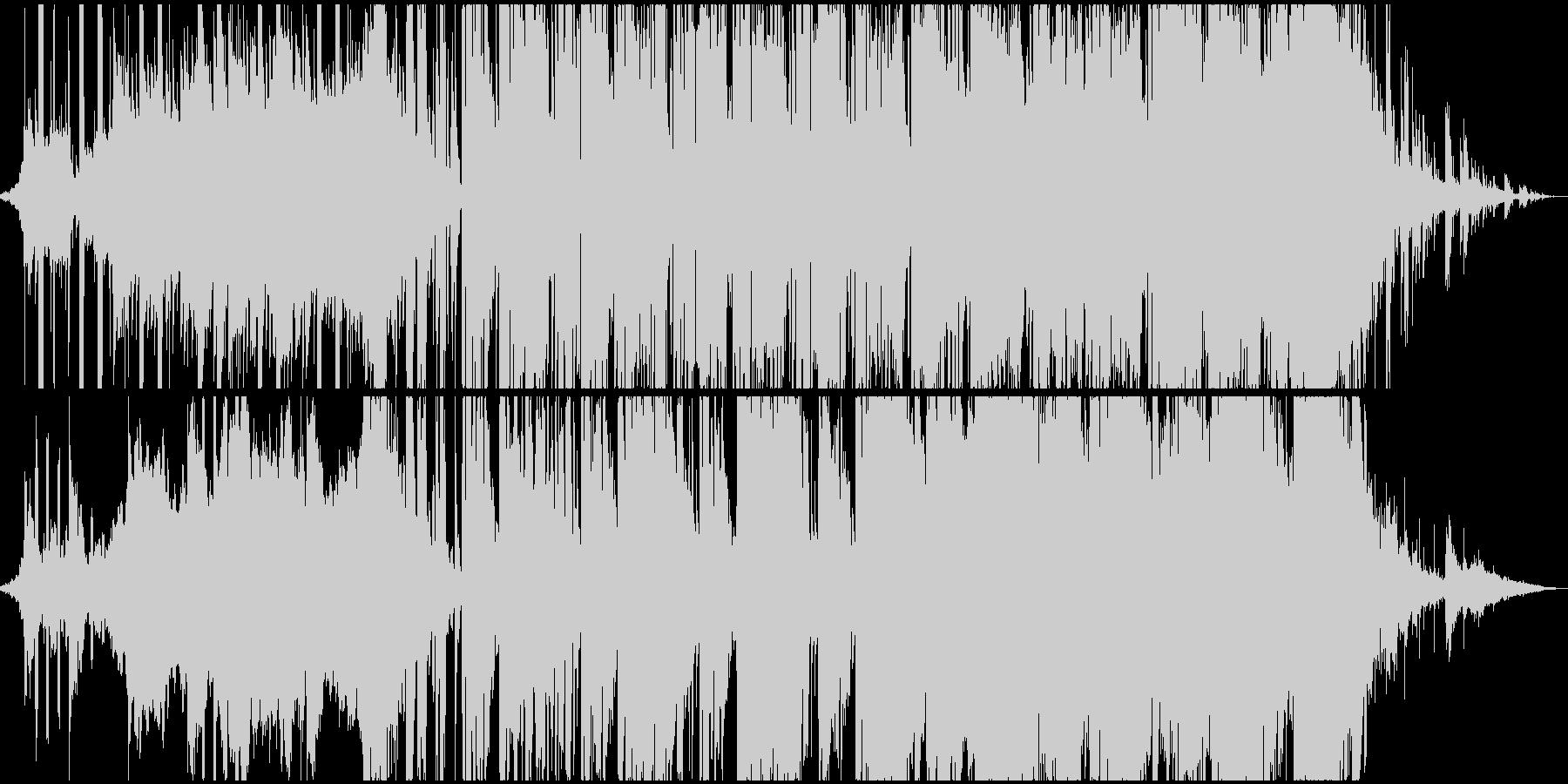 シリアスシーンに合うダークなオープニングの未再生の波形