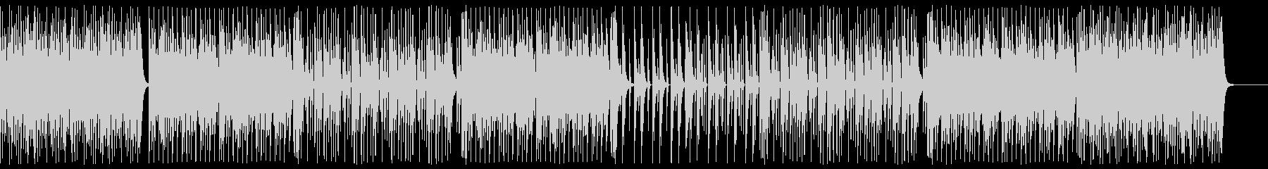 コミカルでポップなテクノシンセサウンドの未再生の波形
