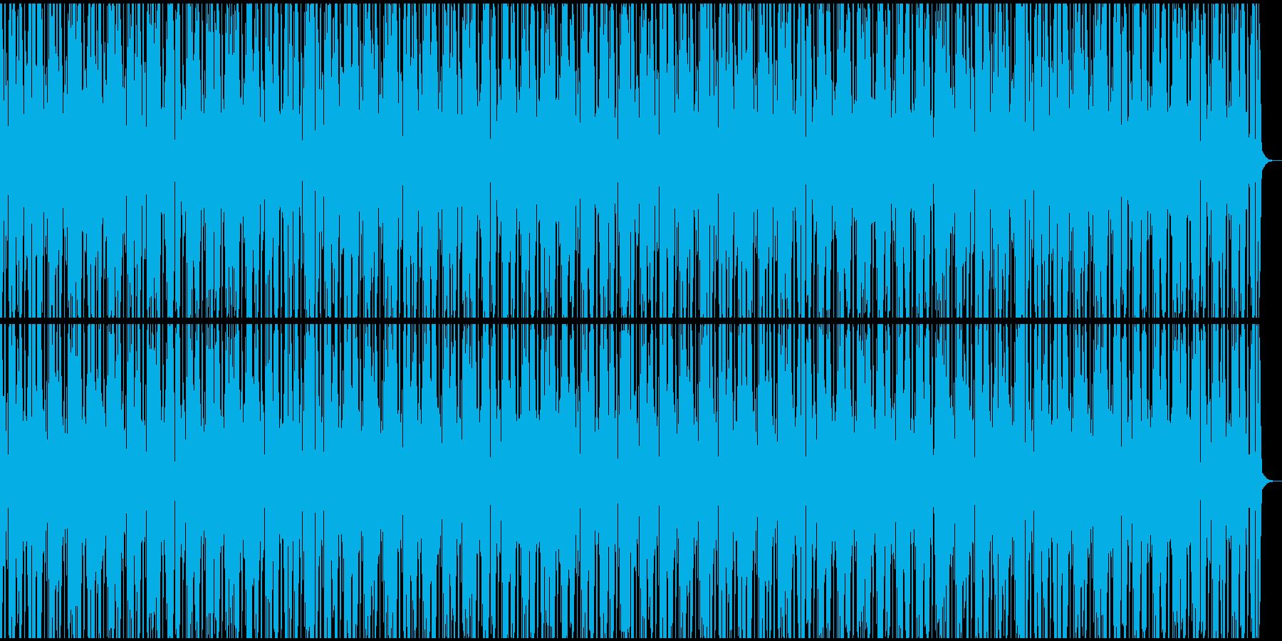 ブレイクビーツ多用のHiphop風の再生済みの波形