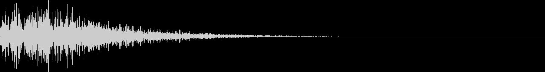 ブワブワ(ダメージ・闇魔法)の未再生の波形