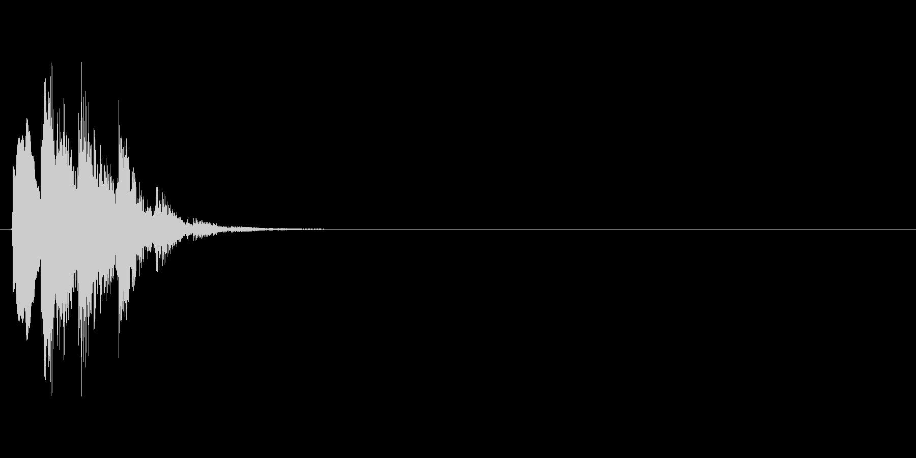 ピロリン↑(アイテム取得、決定)の未再生の波形