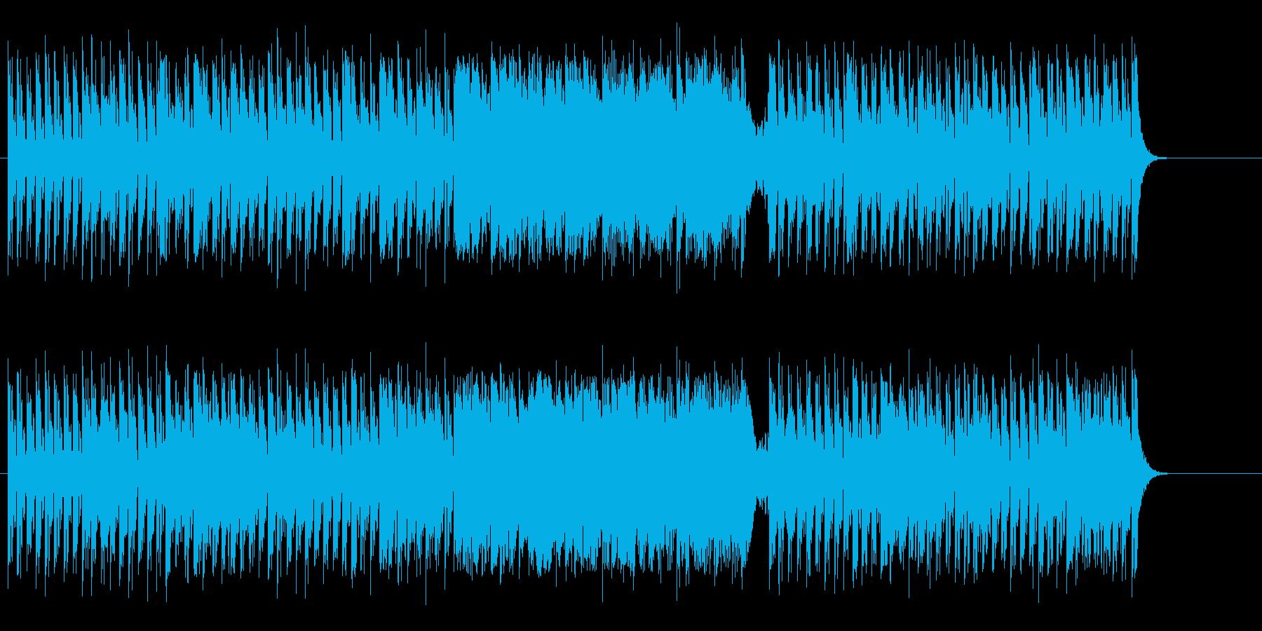 ポップな音色感覚による宇宙の祭典風の再生済みの波形