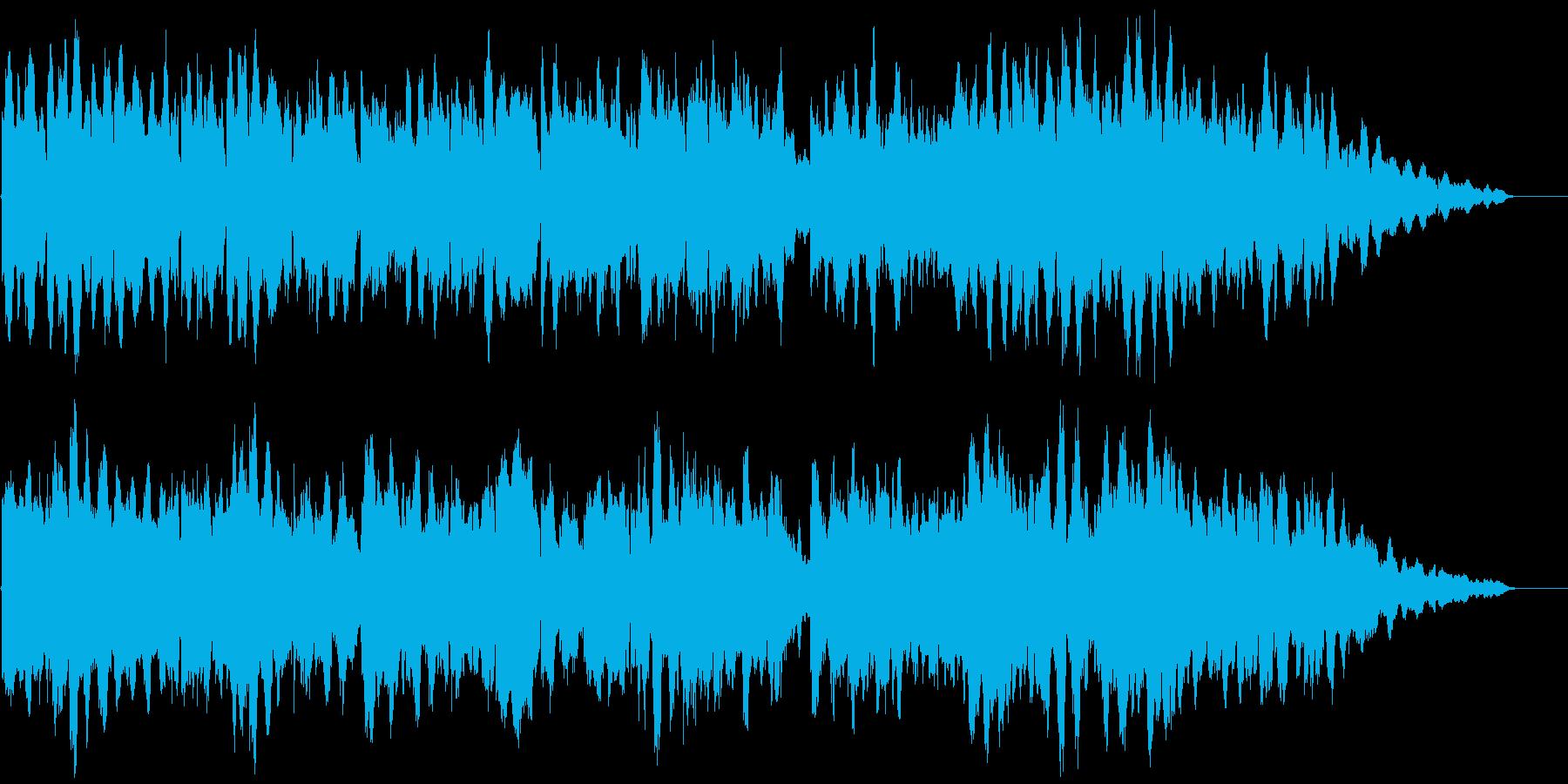 ふかい海 ループ 穏やかの再生済みの波形