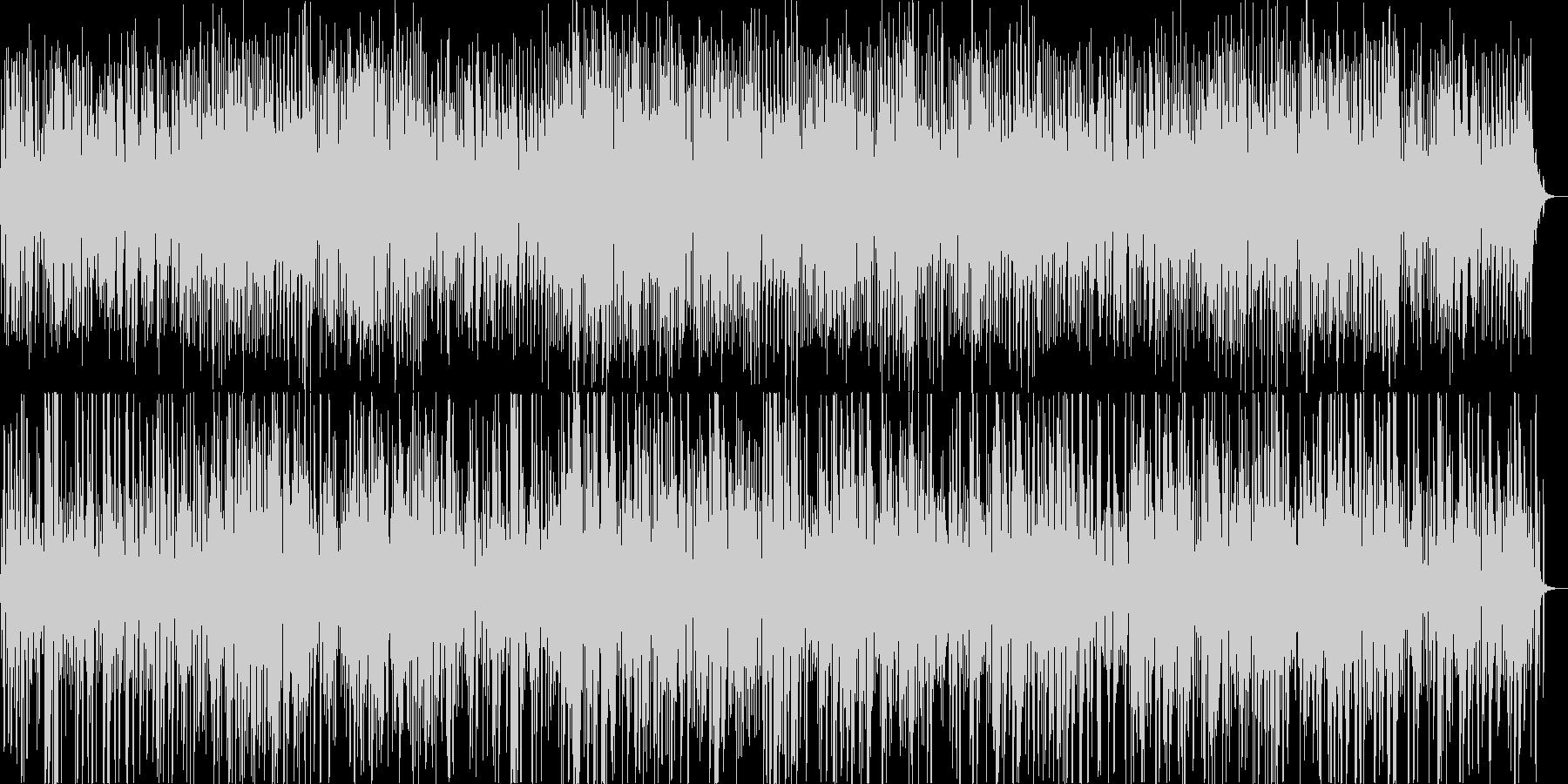 雰囲気のあるジャズの未再生の波形
