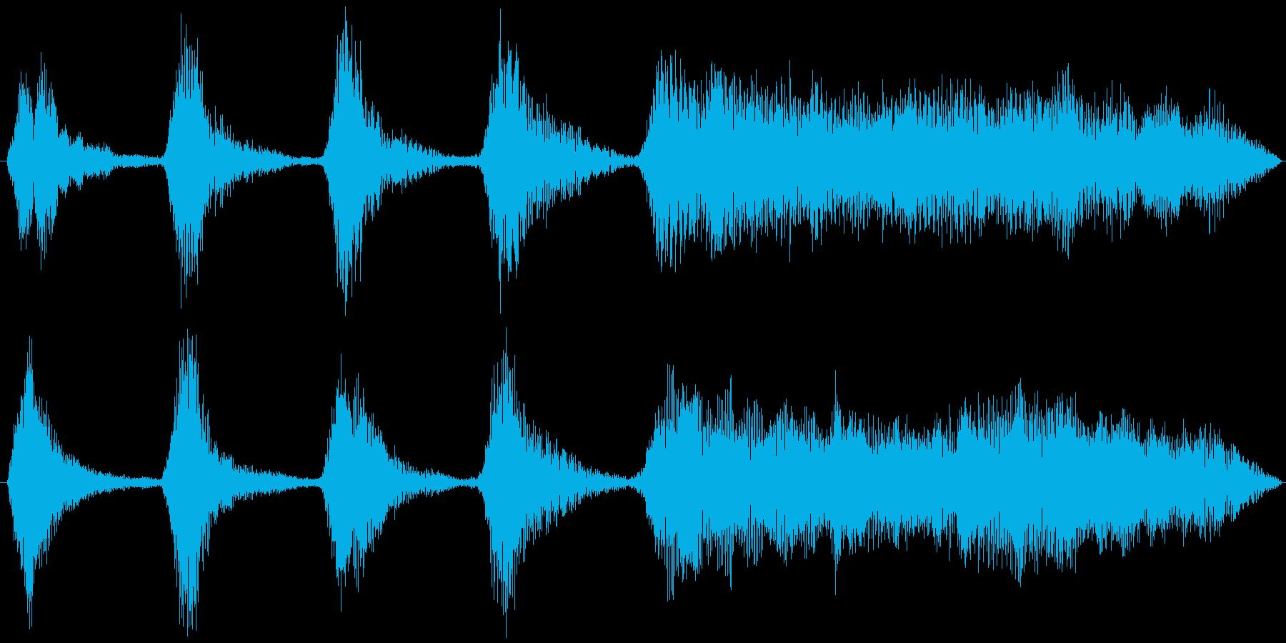【アイキャッチヴァイオリン/Em】の再生済みの波形