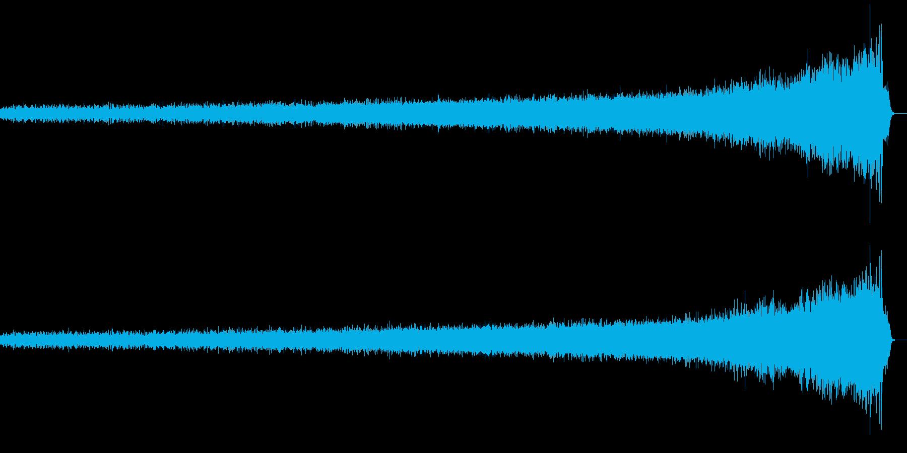 不安を煽るノイズAの再生済みの波形