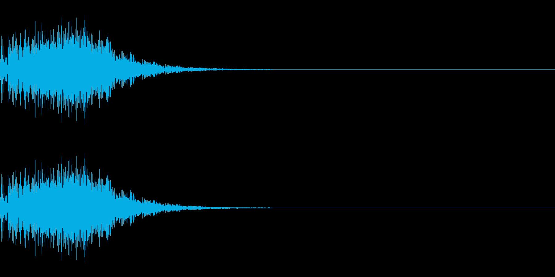 パワーアップ/ワープ/スピードアップの再生済みの波形