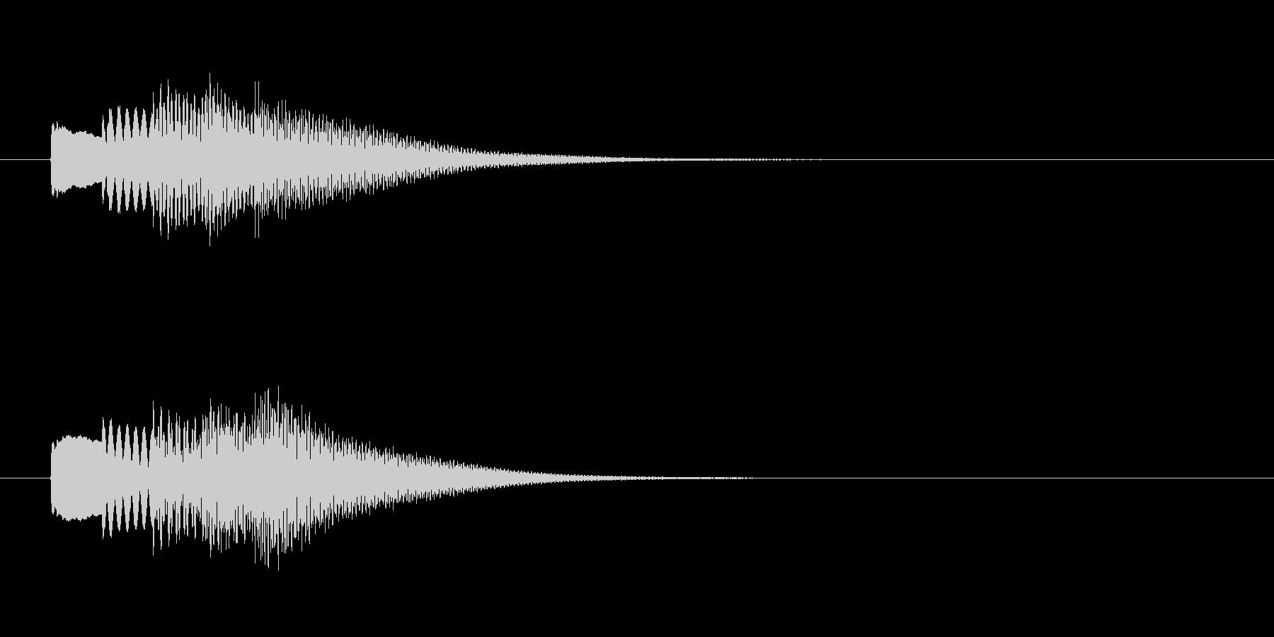 シンプルでかわいいサウンドロゴです。ア…の未再生の波形