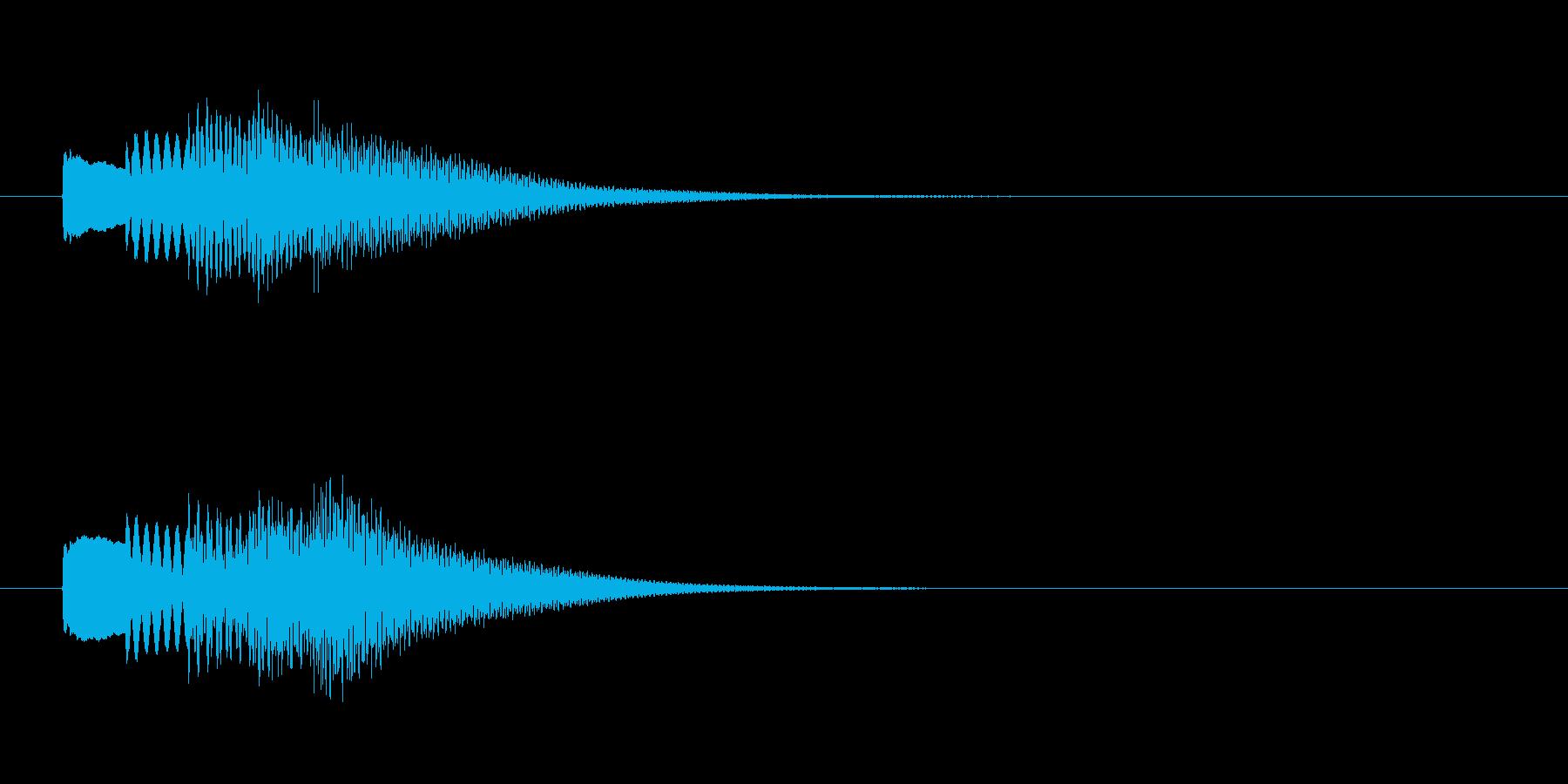 シンプルでかわいいサウンドロゴです。ア…の再生済みの波形