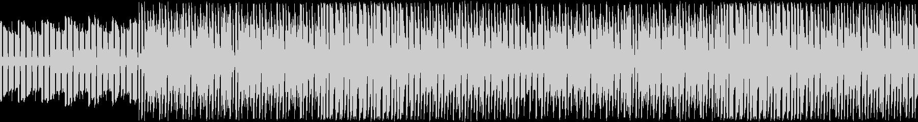 ピコピコゆるふわほのぼのゲームBGMの未再生の波形