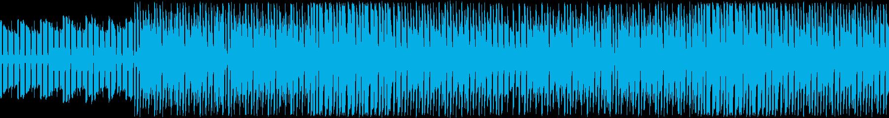ピコピコゆるふわほのぼのゲームBGMの再生済みの波形
