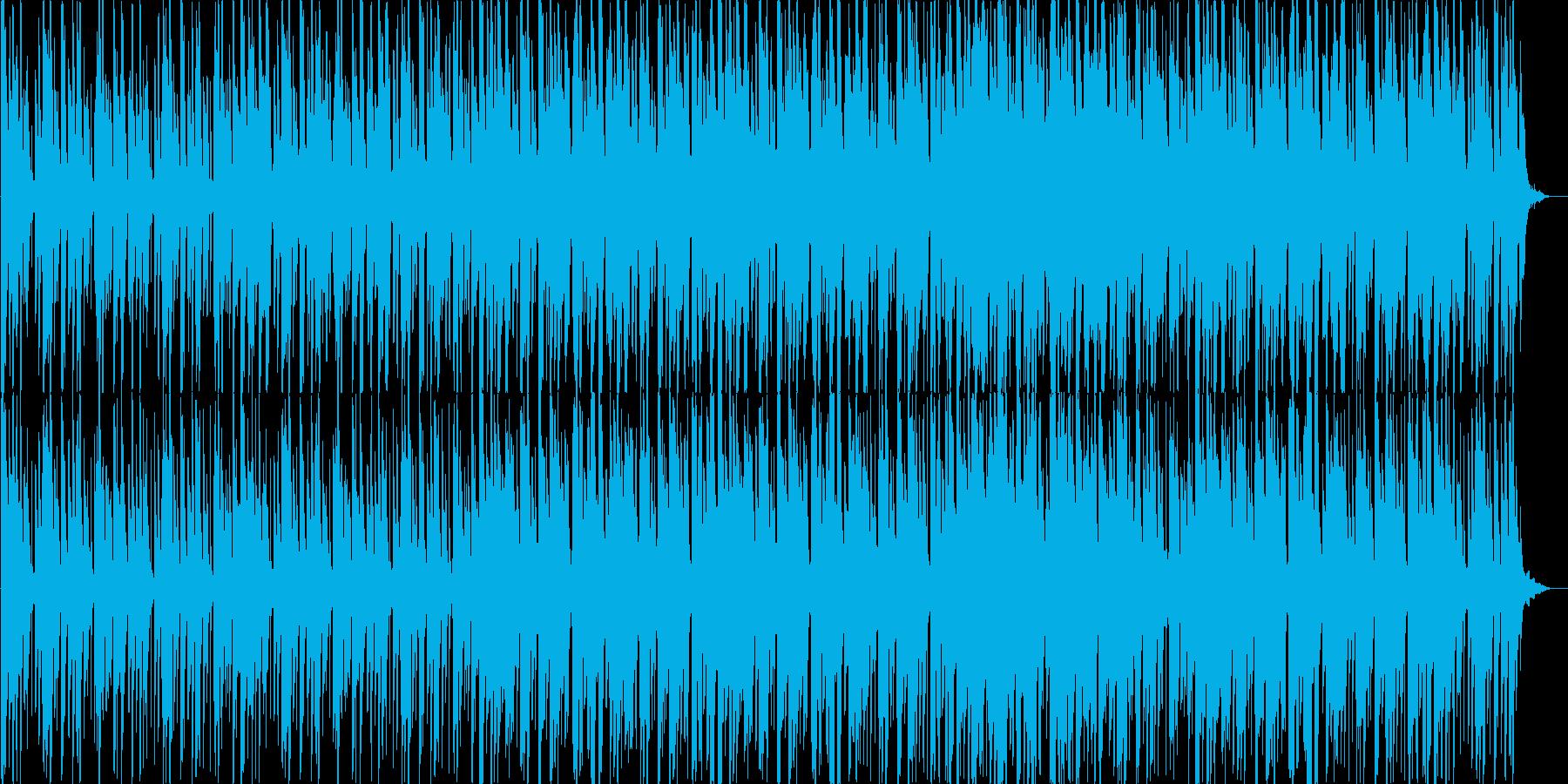 ダンサンブルなラテンポップスの再生済みの波形
