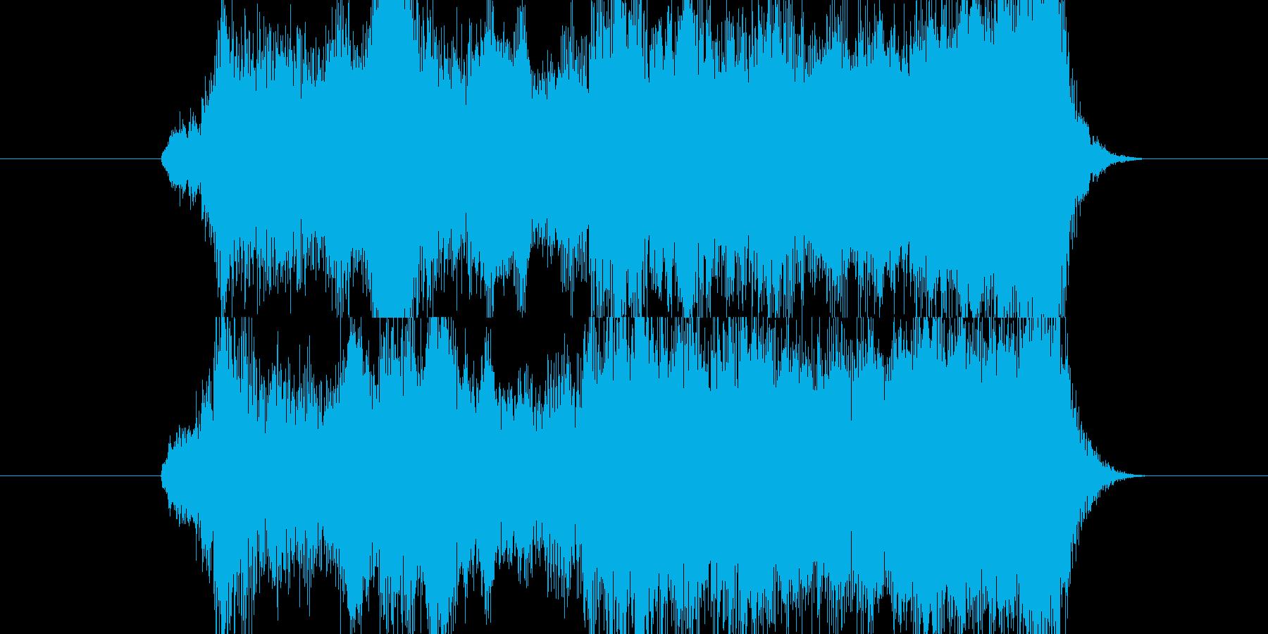 ゲーム向け、アイテムの発見の際のBGM…の再生済みの波形