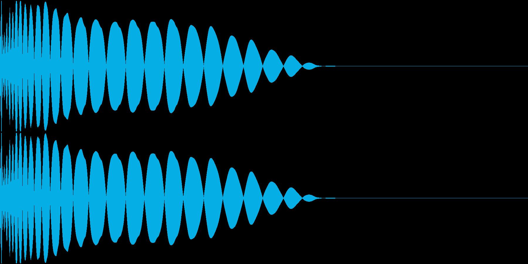 DTM Kick 53 オリジナル音源の再生済みの波形