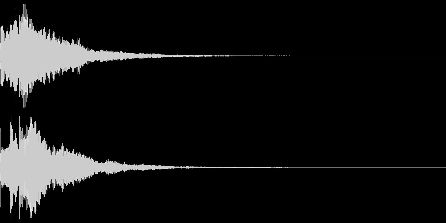 キラリン チャラリン クリック 39の未再生の波形