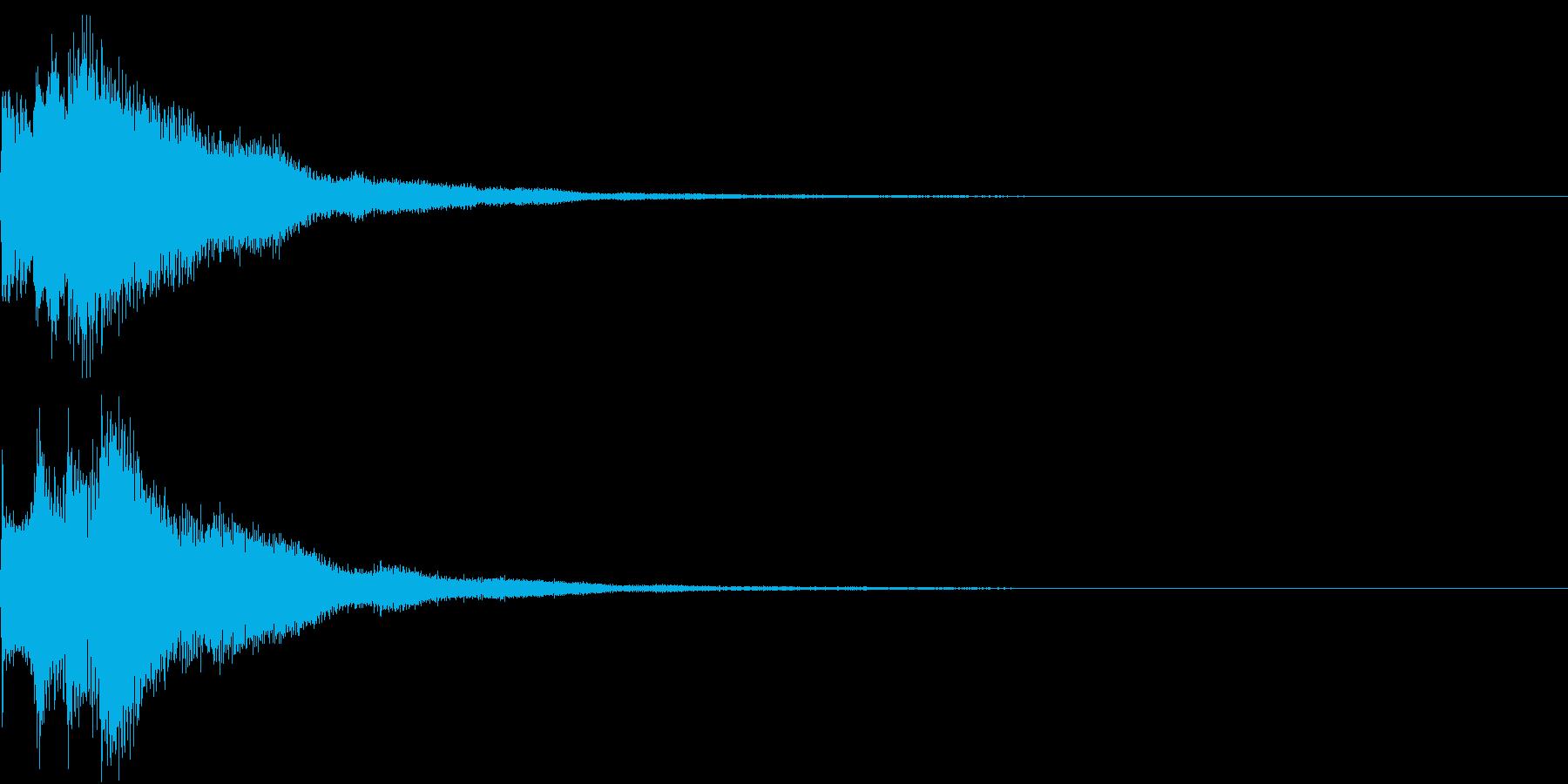 キラリン チャラリン クリック 39の再生済みの波形