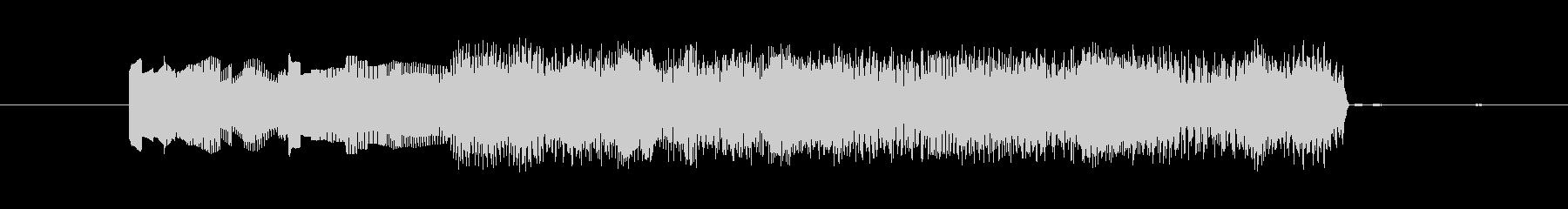 パワーアップ音の未再生の波形