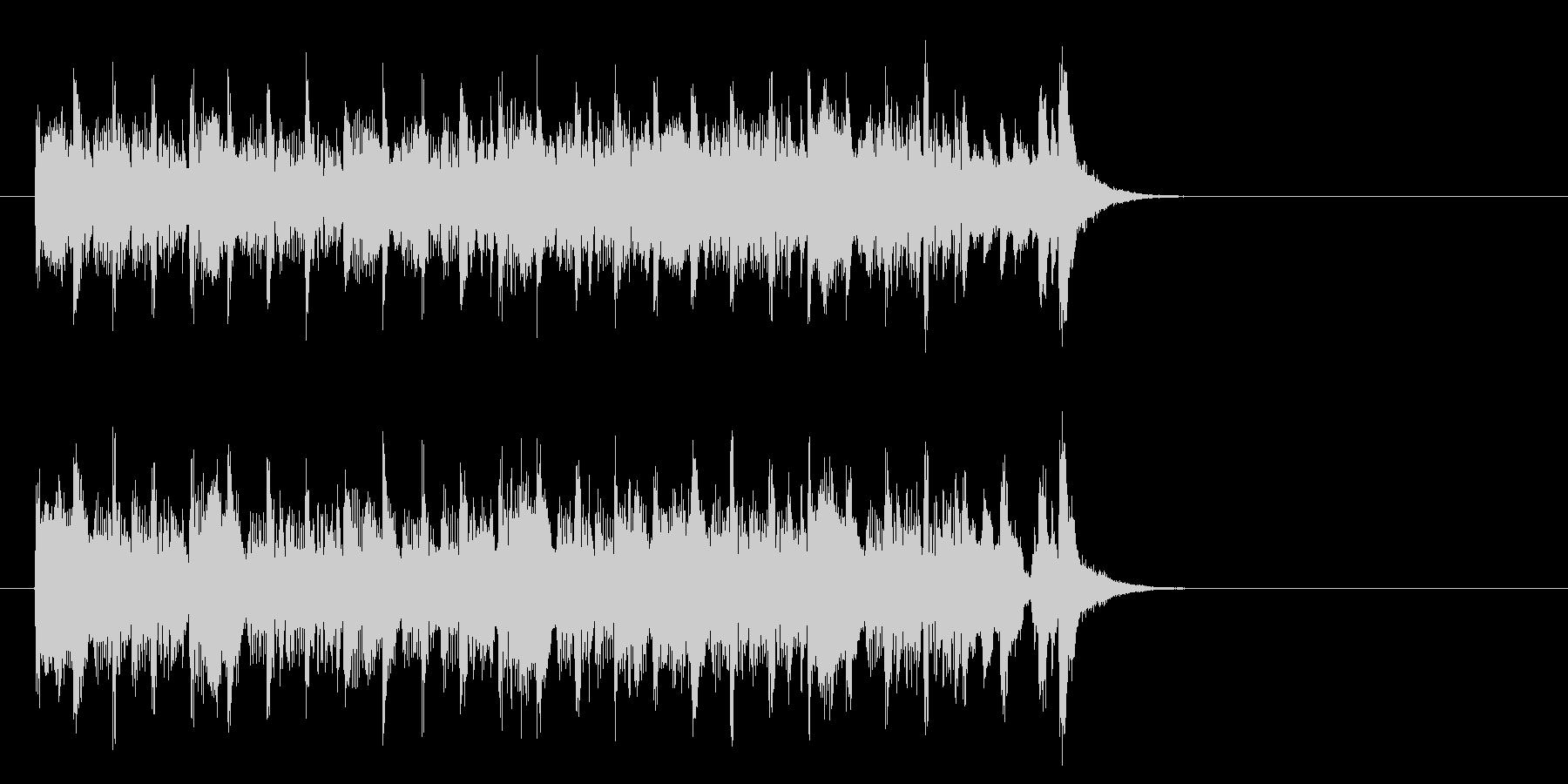エレクトリックポップス(イントロ)の未再生の波形