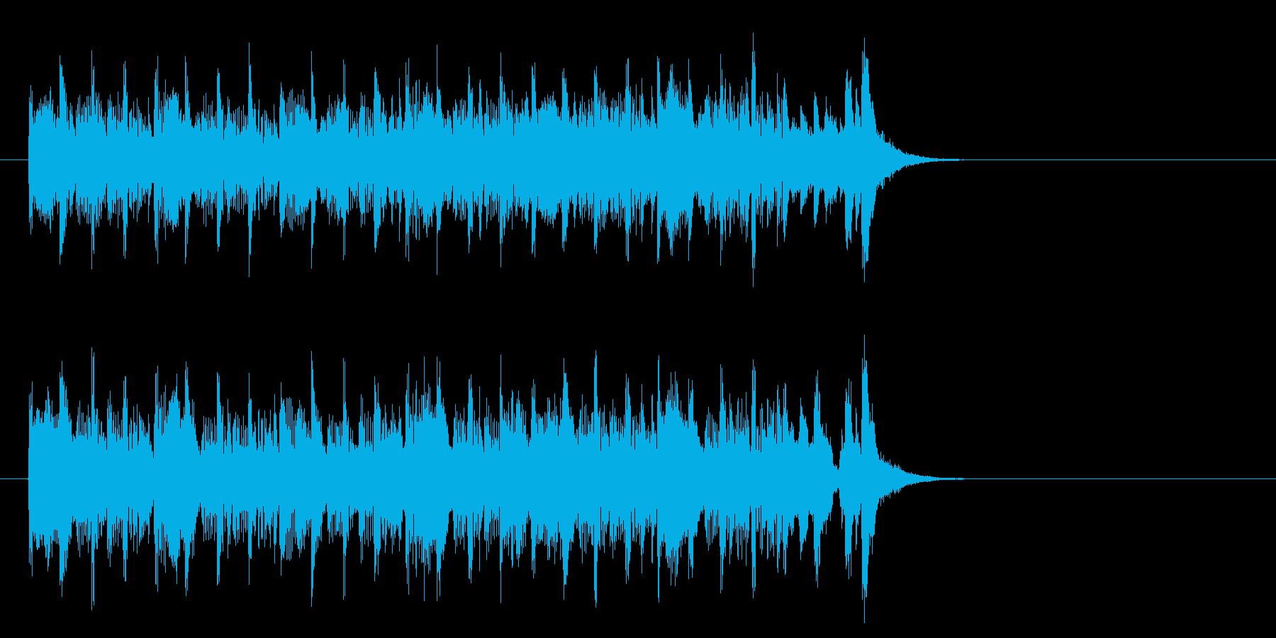 エレクトリックポップス(イントロ)の再生済みの波形