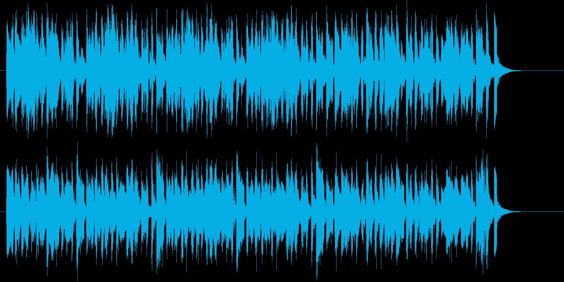 可憐で優しいシンセポップジングルの再生済みの波形