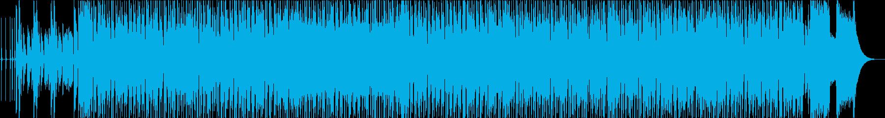 軽快なビッグバンド&スウィングロックの再生済みの波形