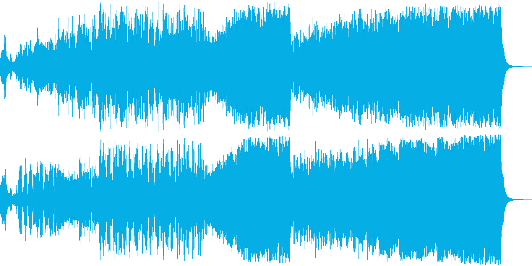 バトル オーケストラの再生済みの波形