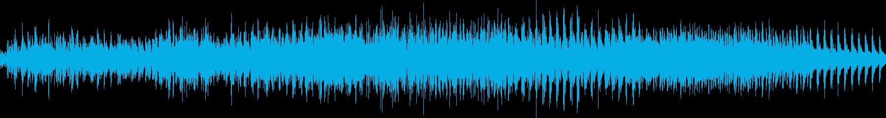 ゲームでレベルアップする時の音の再生済みの波形