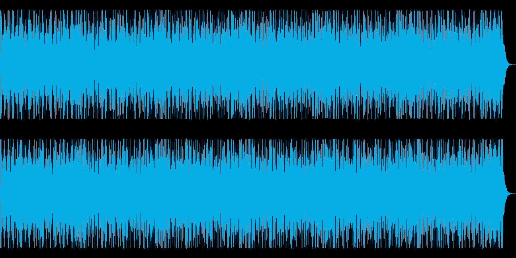 厳かな脅威を感じる曲の再生済みの波形