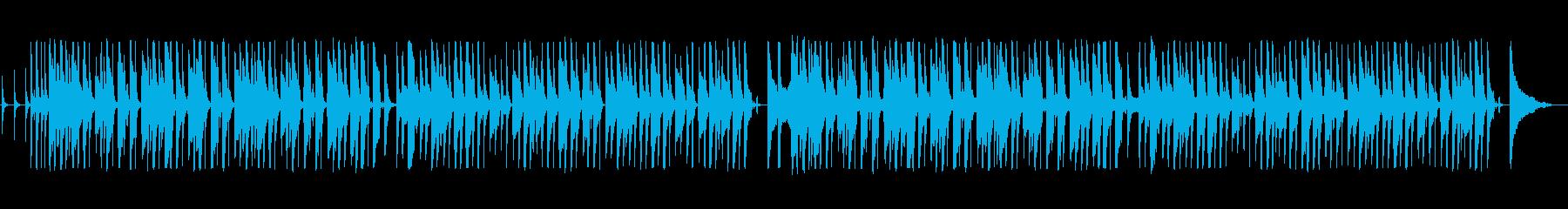 南国風アレンジのラグタイムの再生済みの波形