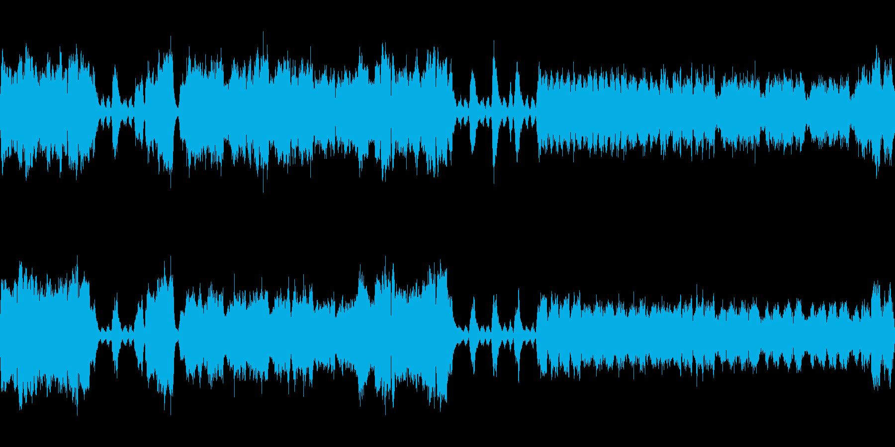 ホルンとバイオリンを使ったバロック調を…の再生済みの波形