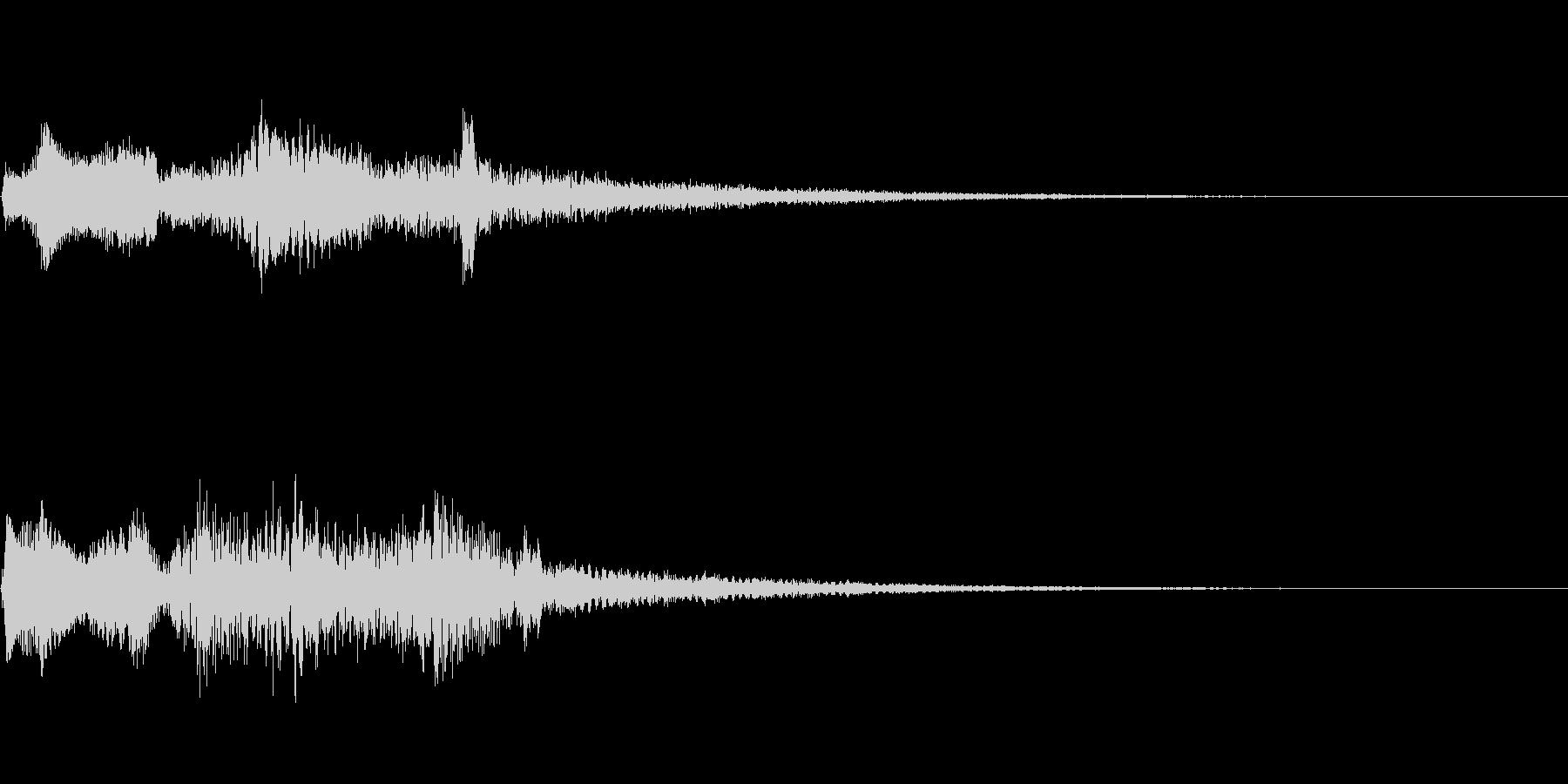 【ロゴ、ジングル】シンセ04の未再生の波形