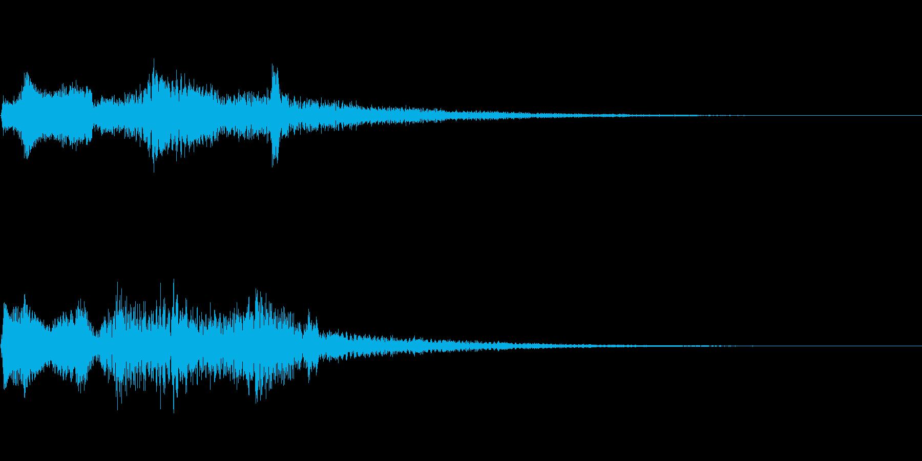 【ロゴ、ジングル】シンセ04の再生済みの波形