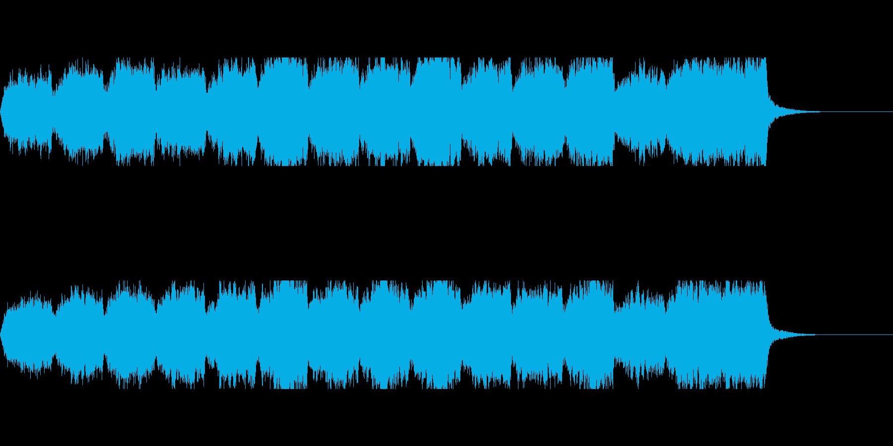 【ボス登場】波乱の展開の前触れを演出するの再生済みの波形