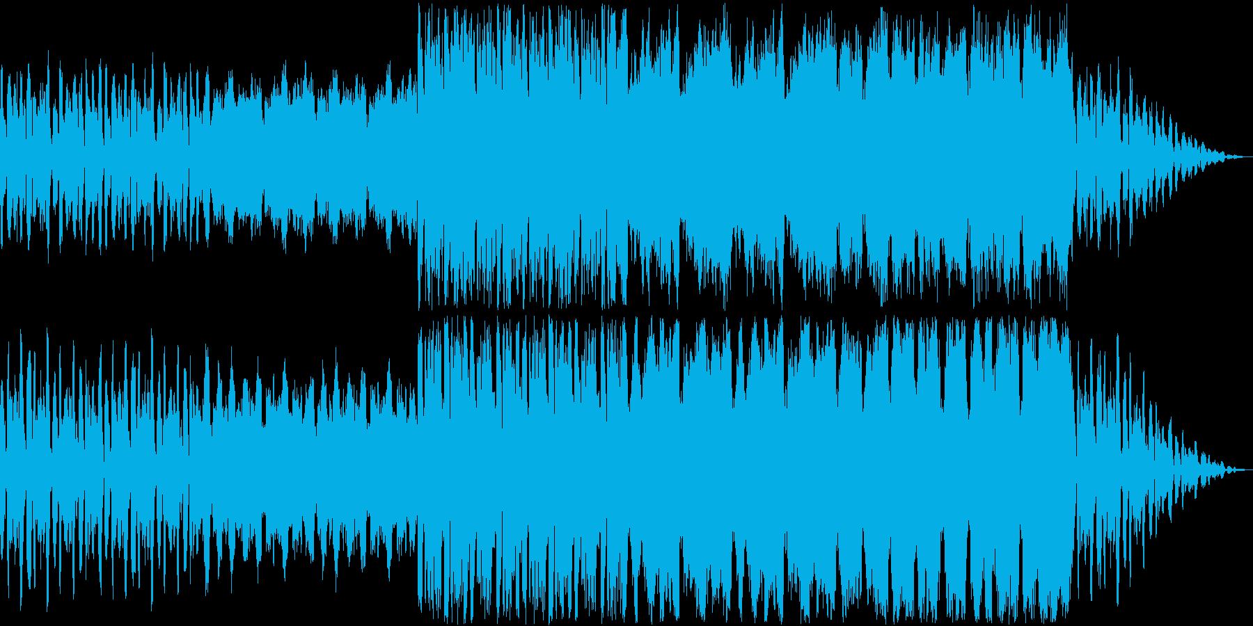 コミカルでちょっと優雅なオーケストラの再生済みの波形