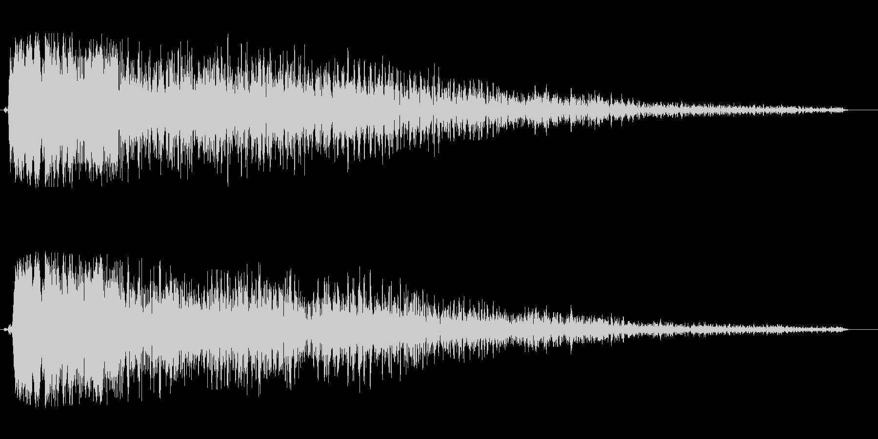 シュワーンキラキラ系の未再生の波形
