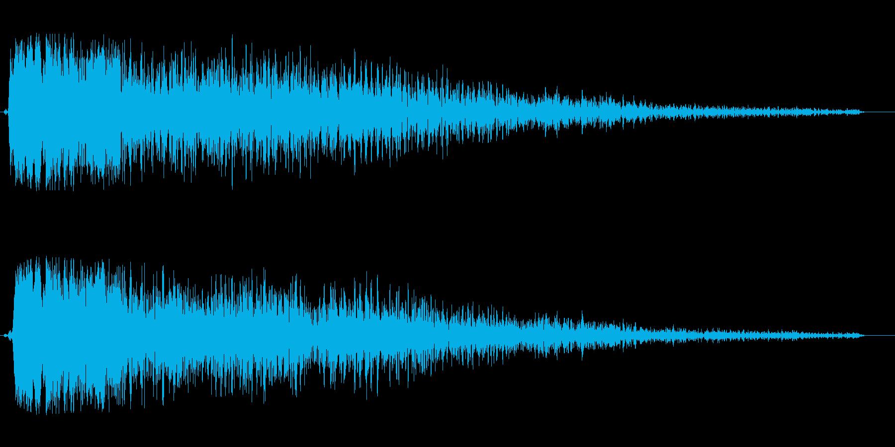 シュワーンキラキラ系の再生済みの波形