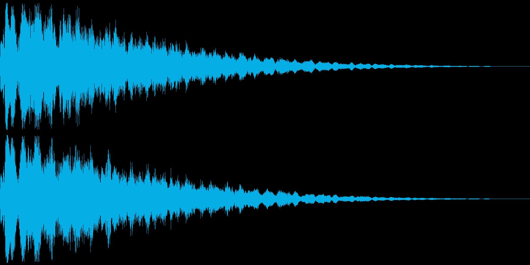 魔法39(回復・光・防御・補助系)の再生済みの波形