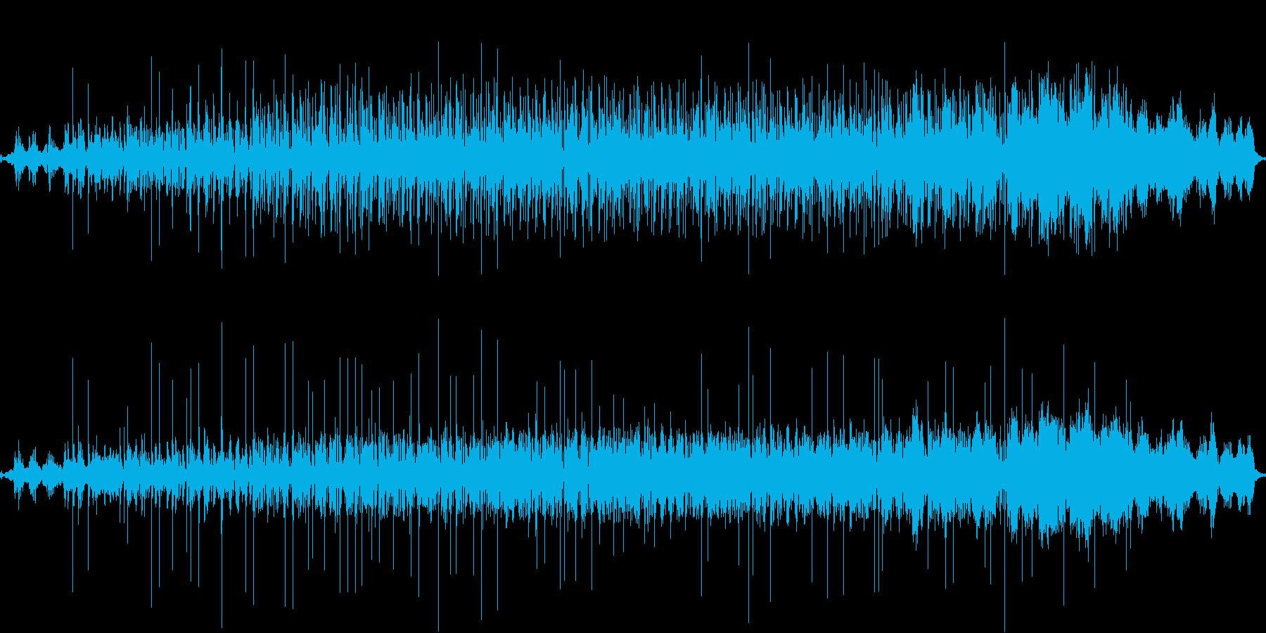 電子的で奇妙な儀式の再生済みの波形