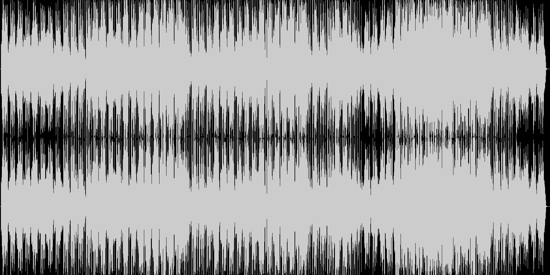 女性の柔らかい声のバラードの未再生の波形