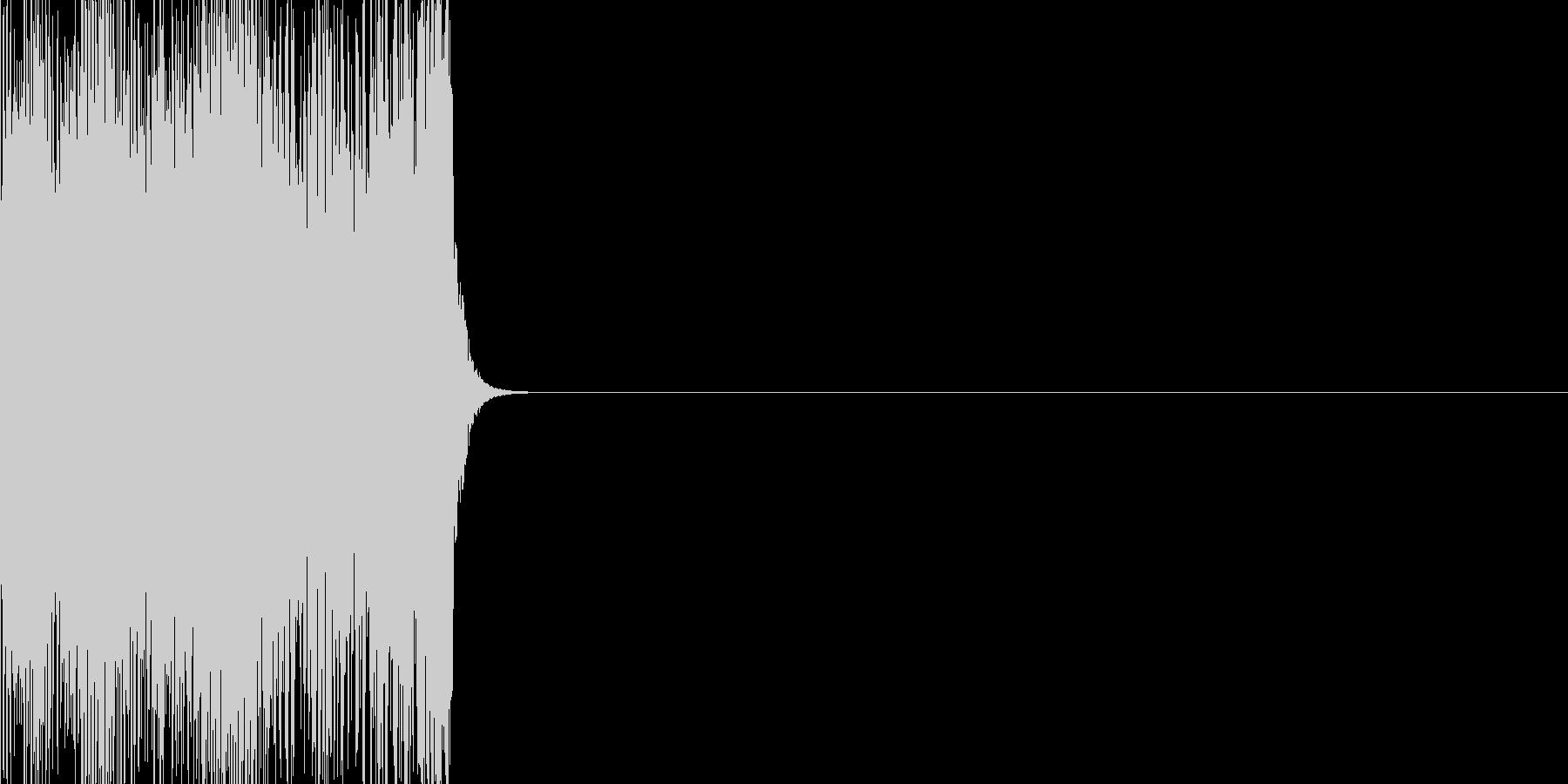 ノイズ(ギィィィ)の未再生の波形