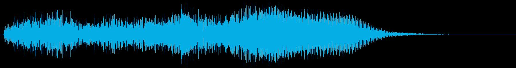ハープとギターの場面転換 コードじゃらんの再生済みの波形