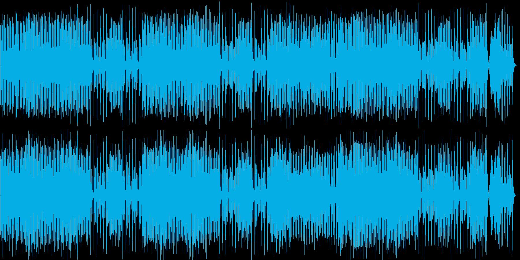 不思議な世界のファンタジーポップの再生済みの波形