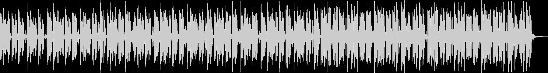 【おしゃれカフェBGM】ボサノバの未再生の波形