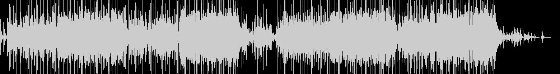ピアノとフルートの柔和なスローバラードの未再生の波形