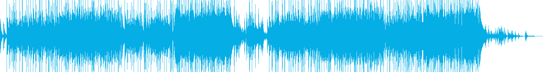 ピアノとフルートの柔和なスローバラードの再生済みの波形