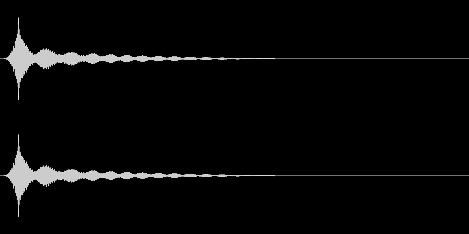 ボヨヨーン(ロング)コミカル効果音の未再生の波形